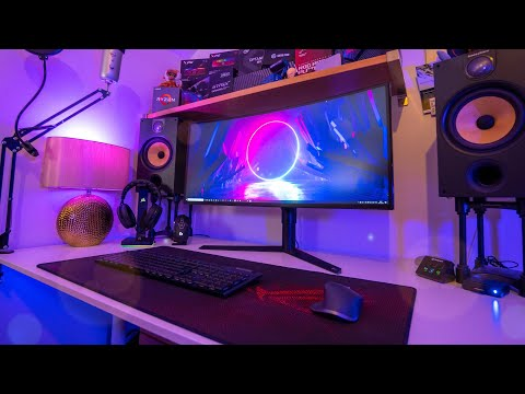My ULTIMATE PC Gaming Setup Tour - This Took YEARS!