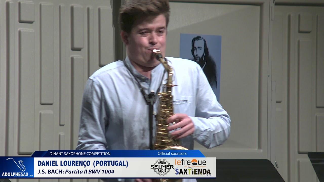 Daniel Lourenço (Portugal) - Partita II BWV 1004 by J.S.Bach (Dinant 2019)
