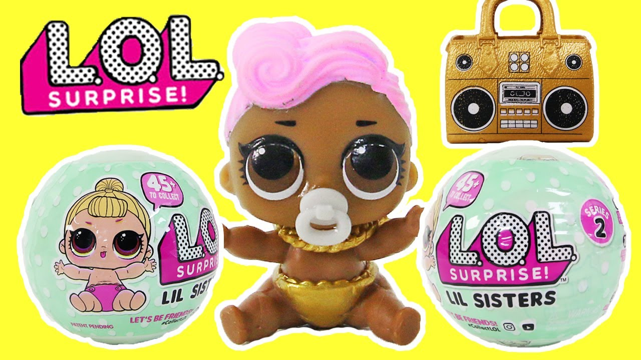 New Lol Surprise Dolls Lol Surprise Sisters Youtube