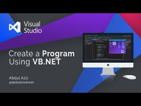 Cara Membuat Program Vb.net
