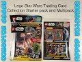 Lego Star Wars Trading Card Collection - Starter Pack and Multipack