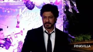 Shah Rukh Khan Parties Hard at Kapoor And Sons' Success Bash!