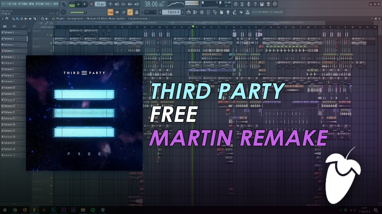 Third Party - Free [FL Studio Remake + FREE FLP]