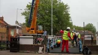 Crl Composite Bridge Installation