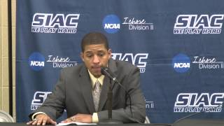 2014 SIAC Basketball Championship Post Game - Kentucky State Thorobreds