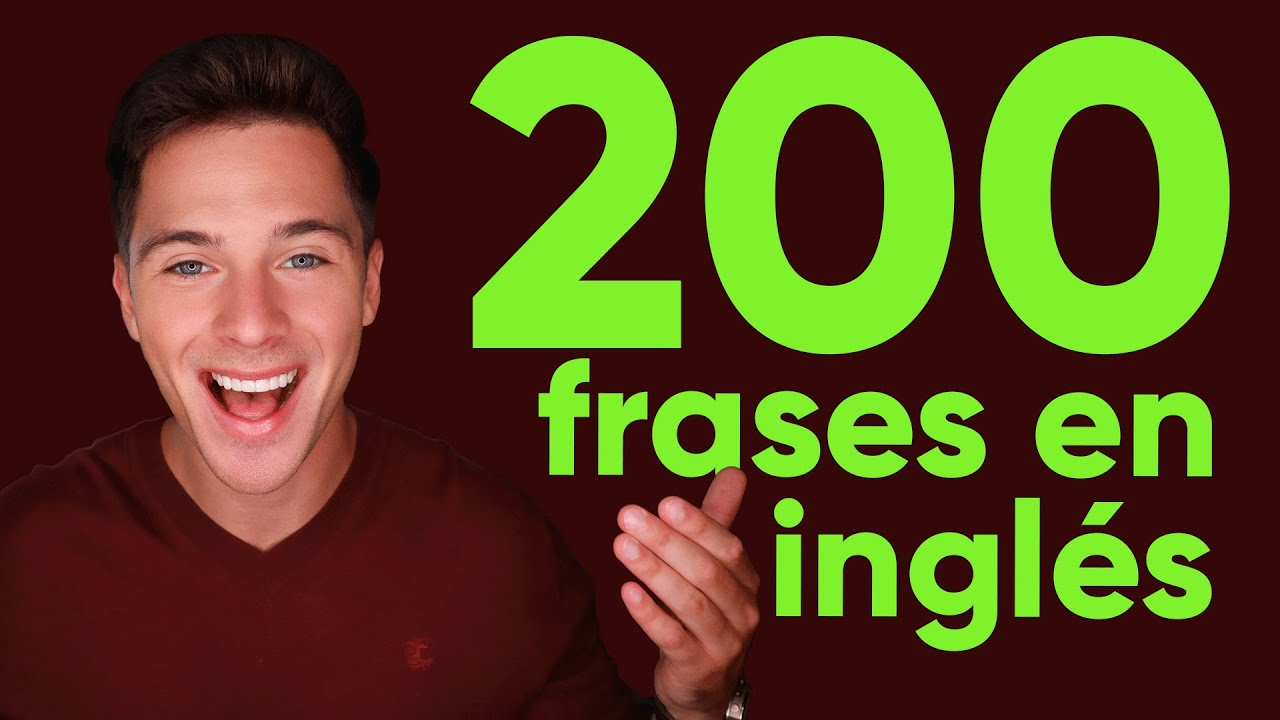 200 frases en inglés para principiantes