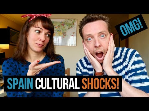10 SPAIN CULTURE SHOCKS | Expat Life in Spain