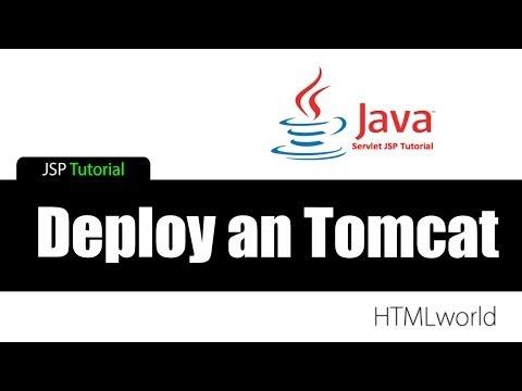 JSP Tutorial: Deploy An Tomcat Server // Deutsch