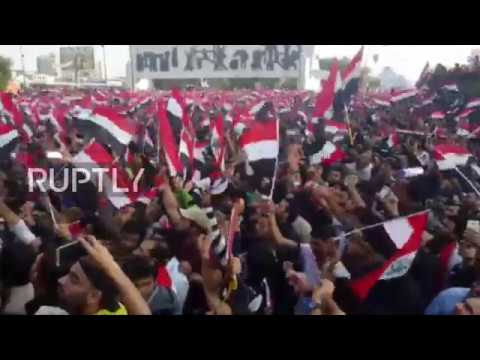 Iraq: Thousands threaten to boycott elections at Baghdad rally