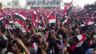 Iraq  Thousands threaten to boycott elections at Baghdad rally
