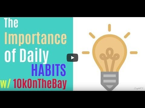 (Skip first minute) The Importance of Daily Habits w/ 10kOnTheBay Interview w/ Crystal Areal