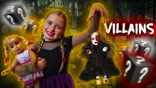 VILLAINS Season 1 Episode 4 Message from the DOLL MAKER | Thumbs Up Family