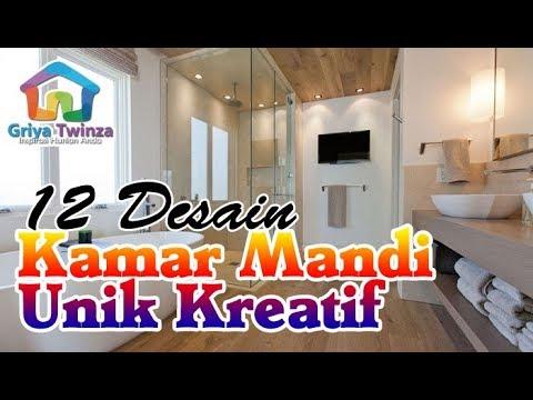 12 Desain Kamar Mandi Unik Super Kreatif Youtube