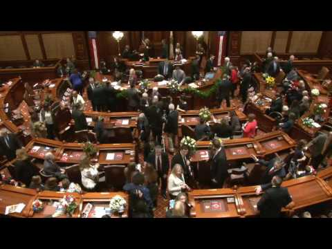 Illinois Senate 100th General Assembly Inaugural