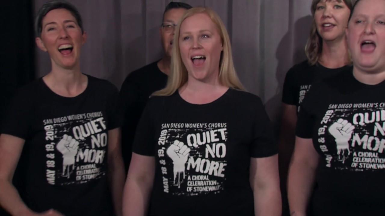 fce525c6 San Diego Women's Chorus Debuts 'Quiet No More' | KPBS