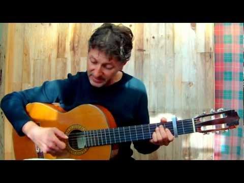 Chanson pour l'Auvergnat - G.BRASSENS  (guitar & vocal cover)