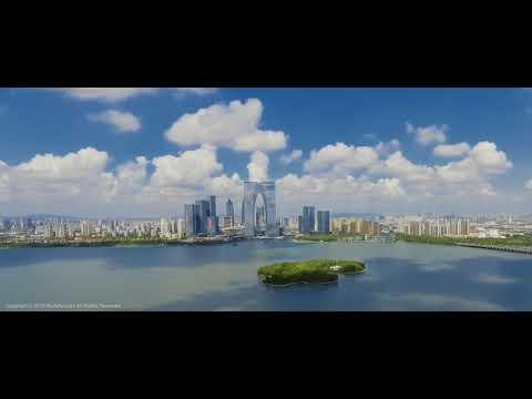 Suzhou, China   Aerial footage