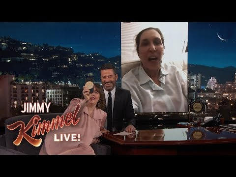 Lena Dunham Pranks Her Mom on Kimmel