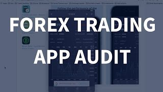 Forex Trading App Audit - Bluecloud Solutions