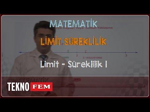 YGS-LYS MATEMATİK - Limit - Süreklilik 1