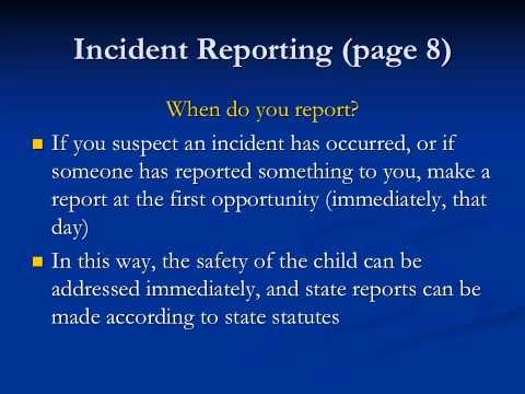 Safe Haven Training Presentation video