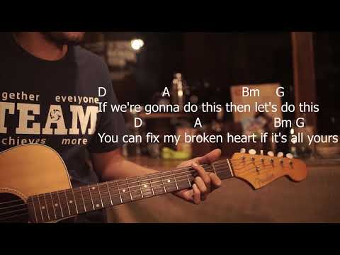 Lyrics and Chords Jason Mraz feat. Meghan Trainor - More Than Friends