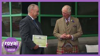 Prince Charles visits NAFC Marine College in Shetland