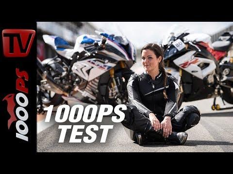 1000PS Test -  HP4 Race vs. BMW S 1000 RR aus IDM, CEV und Endurance WM