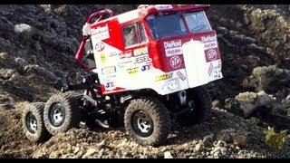 Rc Cwr - Losi Trekker 6x6 Mud And Dirt Run