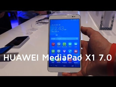 MWC 2014: HUAWEI MediaPad X1 7.0 | Hands-on