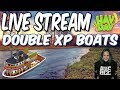 HAY DAY LIVE STREAM #93-DOUBLE XP BOATS!! LEVELING UP!!