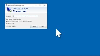 how to change the Remote Desktop Connection port of Windows Server