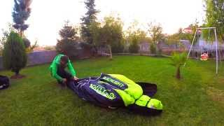 how to pack/fold your paraglider - U-turn Paragliders ,