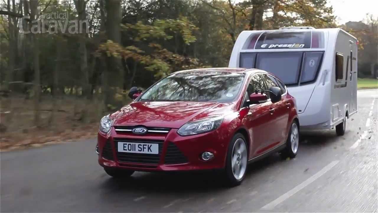 practical caravan | ford focus 2.0 tdci | review 2012 - youtube