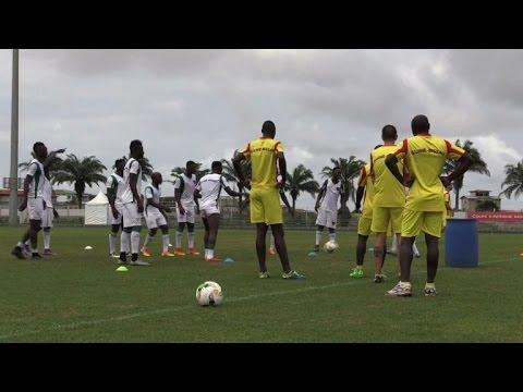 Foot: la Guinée-Bissau s'entraîne avant la CAN