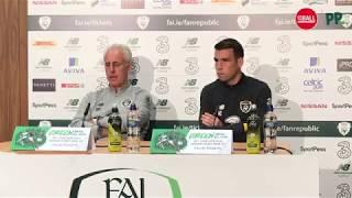 'I don't want a protest' | Irish goal hunt | Mick McCarthy & Seamus Coleman