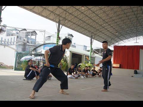 Combat nunchaku | Đấu tập côn | Trận 3 | Lớp dạy côn nhị khúc | 쌍절곤 | 雙截棍 | Нунчаку | ヌンチャク
