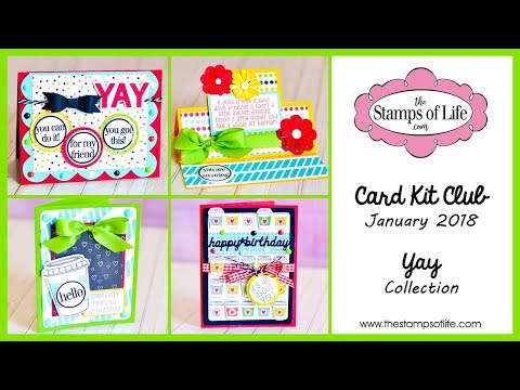 The Stamps of Life January Card Kit!