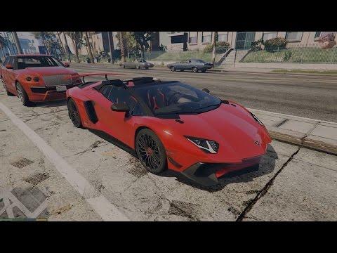 GTA V: Add-On Car Pack 2016