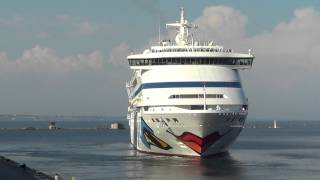 o1.ua - Круизный лайнер AIDAaura на Морвокзале