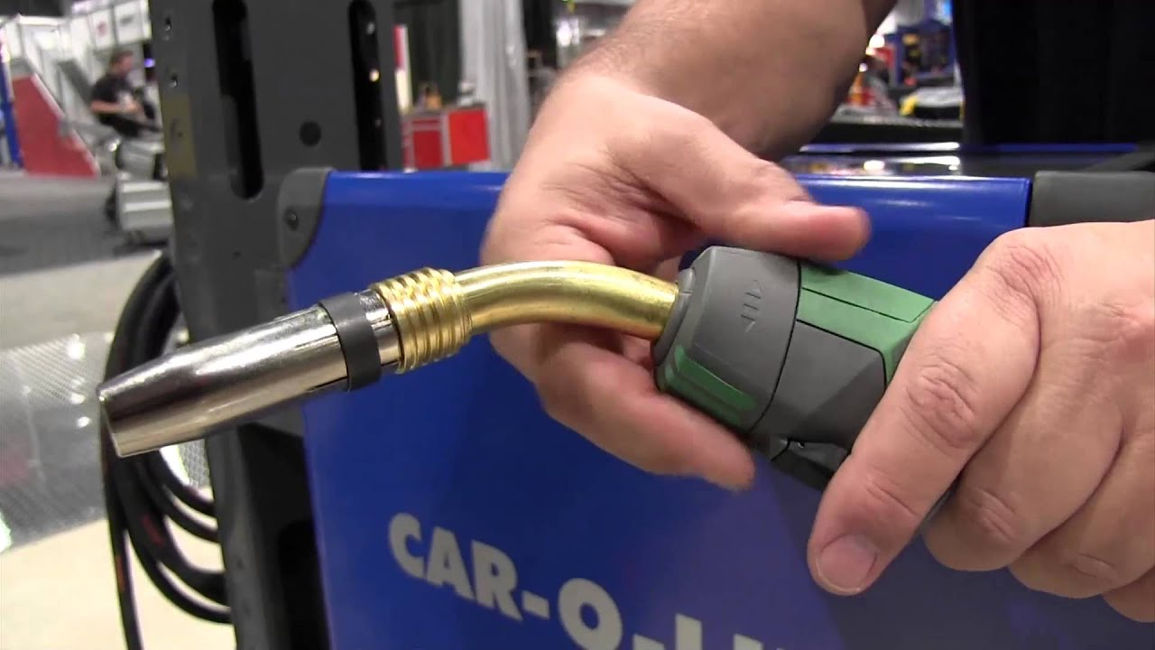 Car-O-Liner Introduces New MIG Welder - YouTube