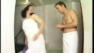 Прикол в бане