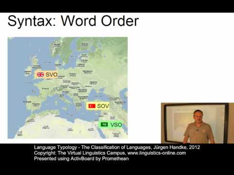 TYP103 - The Classification of Languages