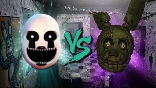 NIGHTMARIONNE VS SPRINGTRAP ⭐️ La Liga de FNAF | FNAF ULTIMATE CUSTOM NIGHT - Octavos de Final
