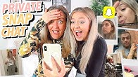 Exposing My PRIVATE Snapchat Memories W/ My MUM!!
