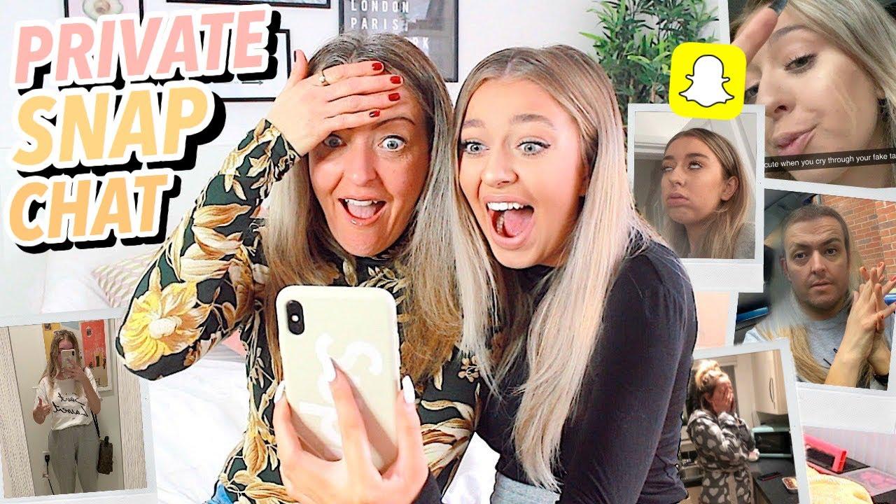 Exposing My PRIVATE Snapchat Memories W/ My MUM!! image