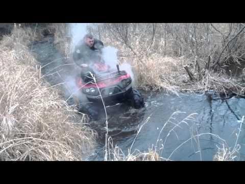 Hillbilly hauler boys crushing ice