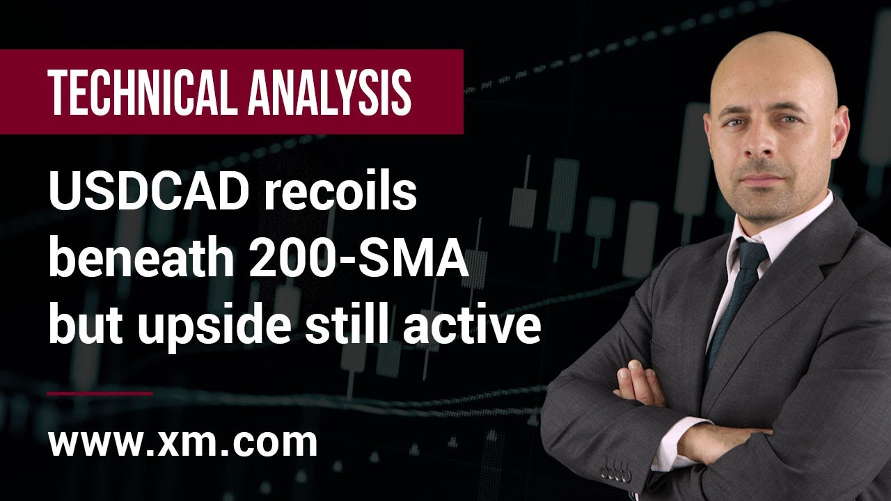 Technical Analysis: 23/07/2021 - USDCAD recoils beneath 200-SMA but upside still active