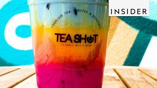 Rainbow Drink Has a Colorful, Nutritious Punch