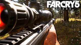 Far Cry 5 Sniper Stealth Gameplay PC